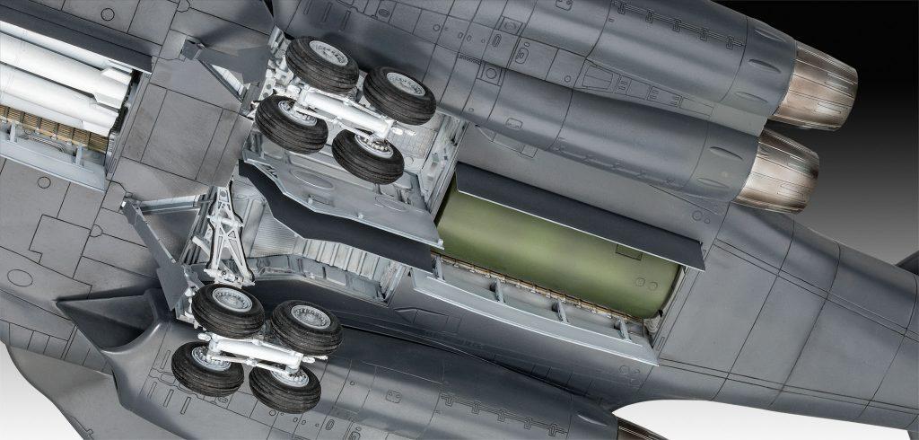 Revell B-1B Lancer - Räder